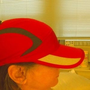 Fuschia Nike Running Hat